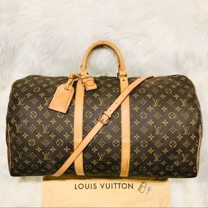 Authentic Louis Vuitton Keepall 50 #3.6T